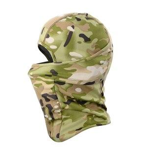 Image 3 - Breathable Motorcycle Balaclava Caps Tactical Military Moto Motocross Head Cover Helmet Liner Hood Biker Face Men Women