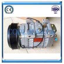 Auto air conditioner compressor for Unicla UX330 12V/24V 8pk