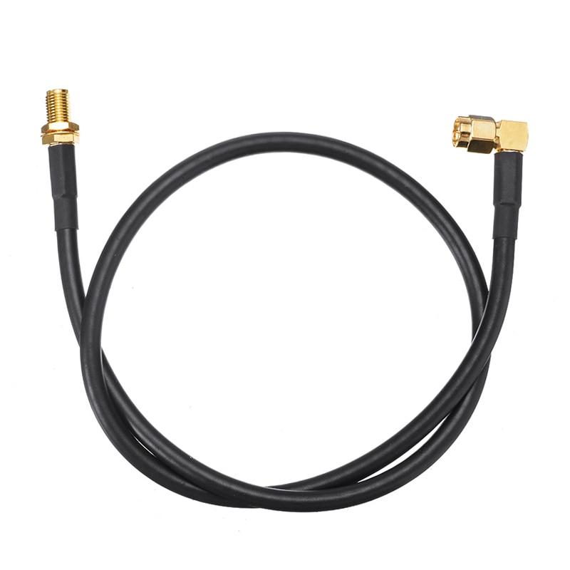 1PC SMA Femelle À Mâle Radio Coaxial Câble D'extension D'antenne Pour Baofeng UV-5R UV-82 UV-9R Plus Talkie-walkie Rallonge