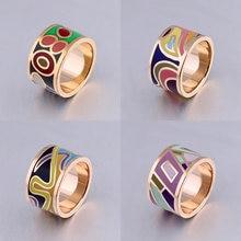 Женское кольцо из нержавеющей стали мужские свадебные золотые