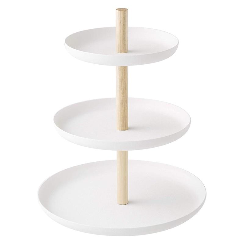 3 Tier Cake Stand Serving Tray Fruit Platter Elegant Wedding Cupcake Holder
