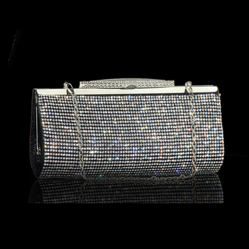 Luxury Diamond Embellished Rhinestone  Mini Handbag  6