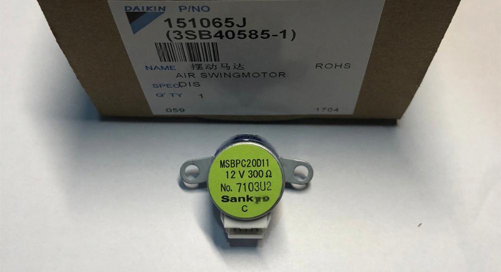 Оригинальный sa ** yo MSBPC20D11 повесить поворотный вентилятор шаг двигателя FTXP35HV2C FTXH35JV2C 12 в 300 Ом