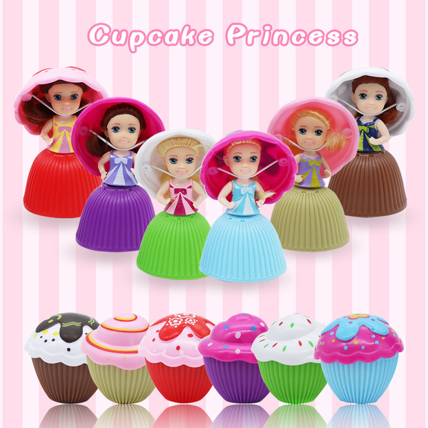 Gift Scented Play House Transformed Doll Cupcake Princess Deformable Pastry