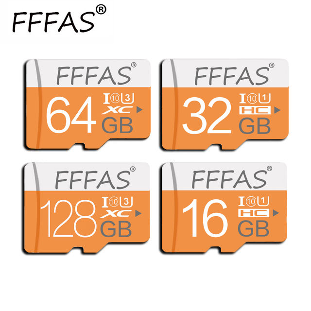 With Free Adapter Micro Sd Card 32GB 16GB 8GB Flash Mini SD Memory Card 64 GB 128GB Microsd TF Card Class10 Cartao De Memoria