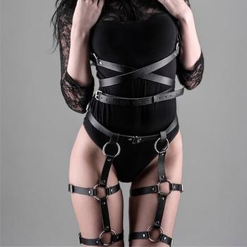 Women Harness Body Belts Sexy Garters Bondage Belt Punk Gothic Fetish Bdsm Bondage Sexy Suit High Waist Suspender Lingerie Crop 1
