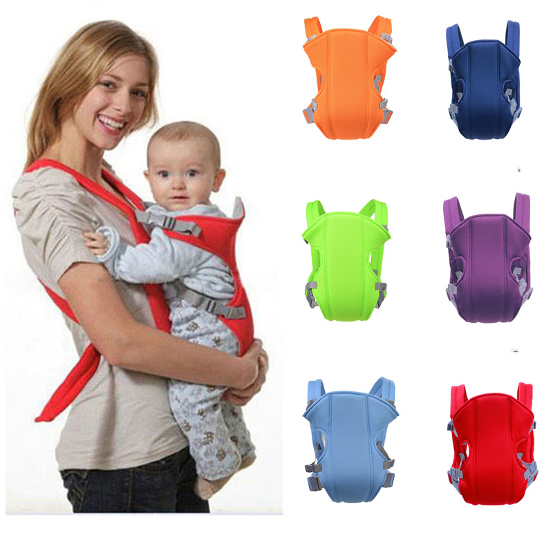 Ergonomic Baby Carrier Sling Toddler Safety Kangaroo Four Position Lap Strap Soft Sling Carrying Backpack Wrap for 2 36 Months|Backpacks & Carriers| |  - title=