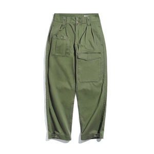Image 2 - Maden Retro Military Style Loose p37 Military Pants Classic Straight Big Pocket Casual Pants Male