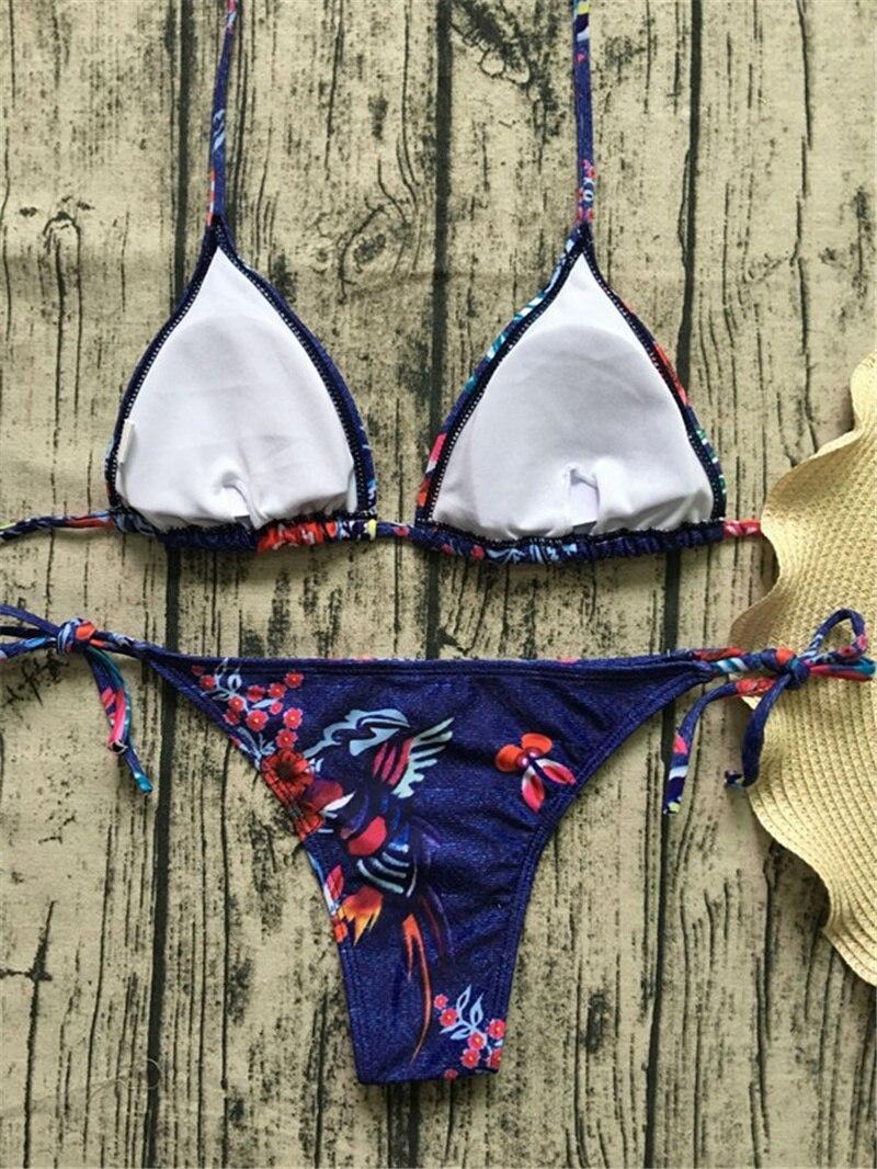 H5e34c6efff7e4def92d44c4afebe455dF Floral print bikinis 2018 new swimwear women swimsuit beach bathing suit maillot de bain femme biquini sexy brazilian bikini set