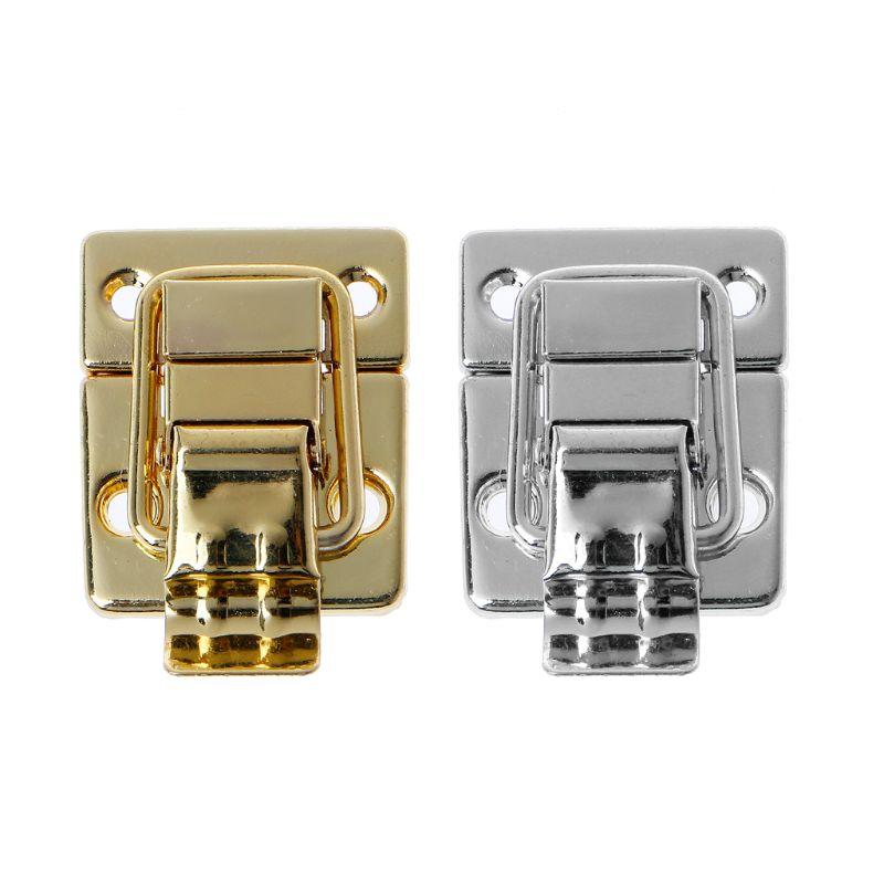 Hasp Hook Lock Twist Lock Bag Accessories Handbags Case Alloy Catch Buckle DIY Metal Small Clasp A69C