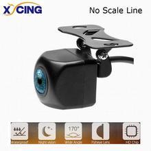 XYCING автомобильные камеры заднего вида 170 градусов угол рыбий глаз ночного видения Водонепроницаемый IP68 автомобиль для парковки задним ходом камеры Универсальный