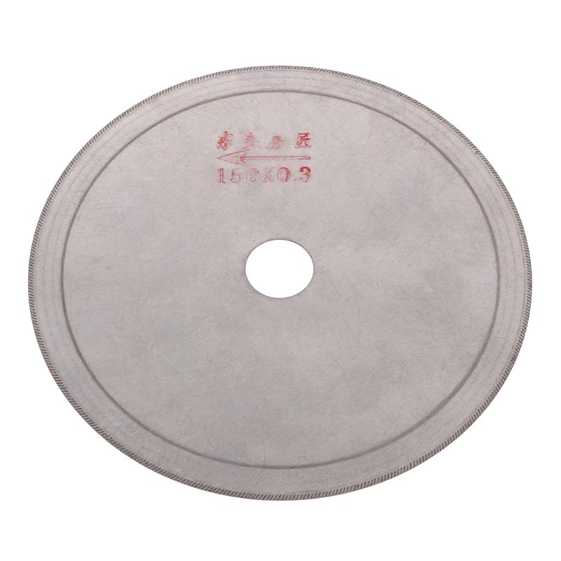 Ultra-thin Diamond Saw Blade Slant Teeth Cutting Tools For Stone Agate Jade 80mm, 100mm, 110mm, 120mm, 150mm