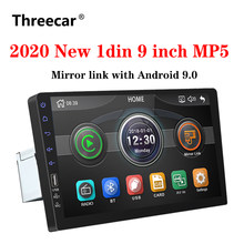 2021 novo 9 Polegada carro multimídia player 1 din rádio do carro bluetooth usb câmera reversa mp5 player autoradio nenhum android