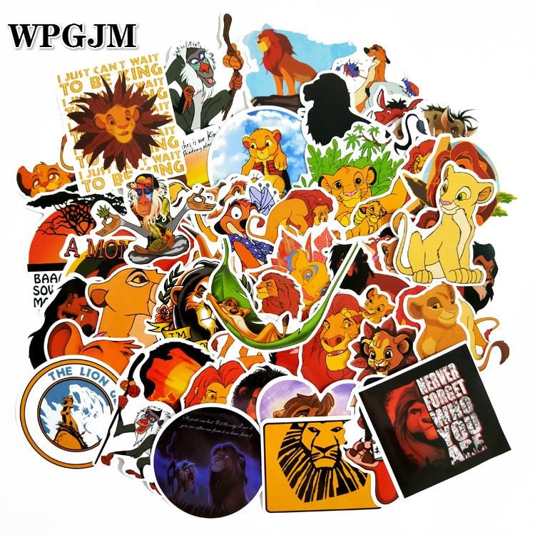 Simba Cub Tree Silhouette Lion King Disney Inspired Wall Vinyl Sticker Decal