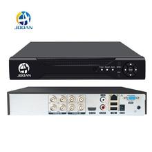 JOOAN 4CH 8CH 16CH CCTV DVR система безопасности 1080N H.264 HD выход P2P Hybrid 5 в 1 Onvif IP камера TVI CVI AHD видеорегистратор