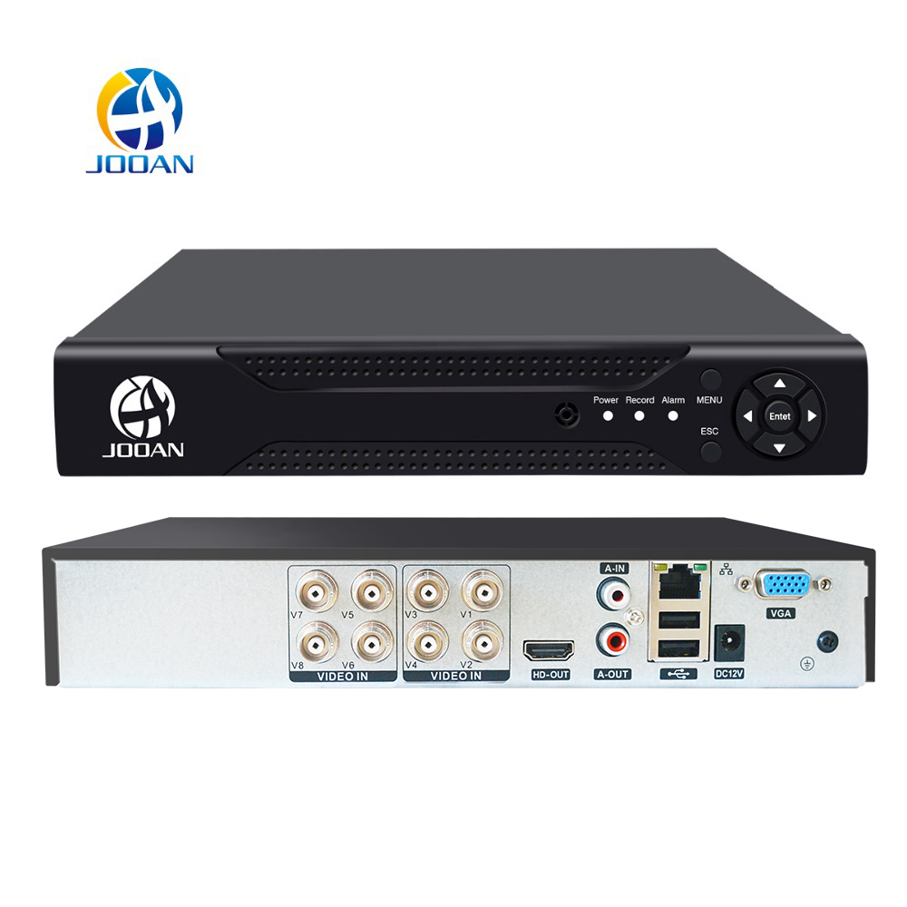 JOOAN 4CH 8CH 16CH CCTV DVR Security System 1080N H 264 HD-Output P2P Hybrid 5 in 1 Onvif IP Camera TVI CVI AHD Video Recorder