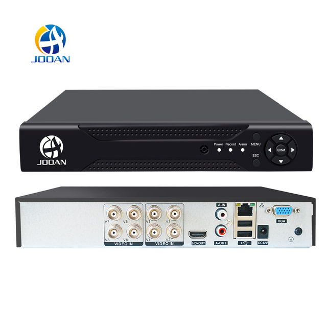 JOOAN 4CH 8CH 16CH טלוויזיה במעגל סגור DVR אבטחת מערכת 1080N H.264 HD פלט P2P היברידי 5 ב 1 Onvif IP מצלמה TVI CVI AHD וידאו מקליט