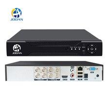 Jooan 4ch 8ch 16ch cctv dvr sistema de segurança 1080n h.264 hd saída p2p híbrido 5 em 1 onvif câmera ip tvi cvi ahd gravador de vídeo