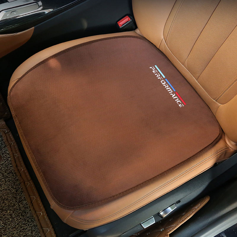 Car Plush Warm Seat Cushion Cover Seat Pad Mat For BMW E46 E52 E53 E60 E90 E91 E93 F30 F20 F10 F15 F13 M3 M5 M6 X1 X3 X5 X6 Z4 image