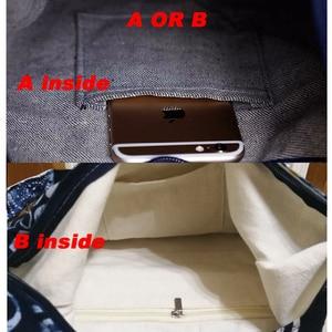 Image 5 - Винтаж хиппи Сумка в стиле бохо Для женщин сумка через плечо сумки хлопок Для женщин Сумки книги школьная сумка дорожная сумка мешок