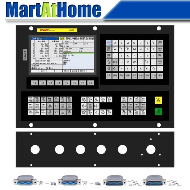 XC809T 2/3/4/5/6 eksenli çok fonksiyonlu torna CNC sistemi kontrolörü aracı dergisi ile destek G kod ATC FANUC dijital iğ
