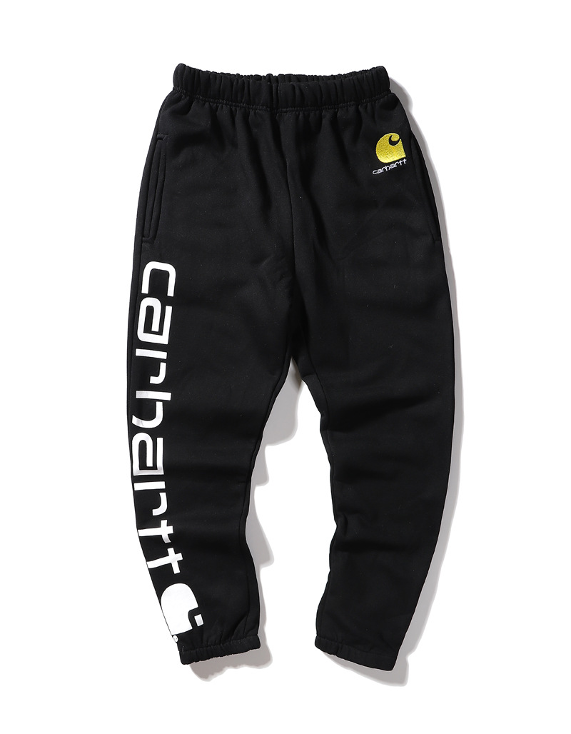 Autumn And Winter Europe And America Popular Brand Carhartt Classic Embroidered Logo Large Printed Letter Design Men And Women C