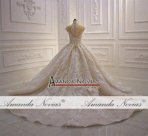 Image 3 - robes de mariée wedding dress princess custom made wedding dress real work 100% high quality