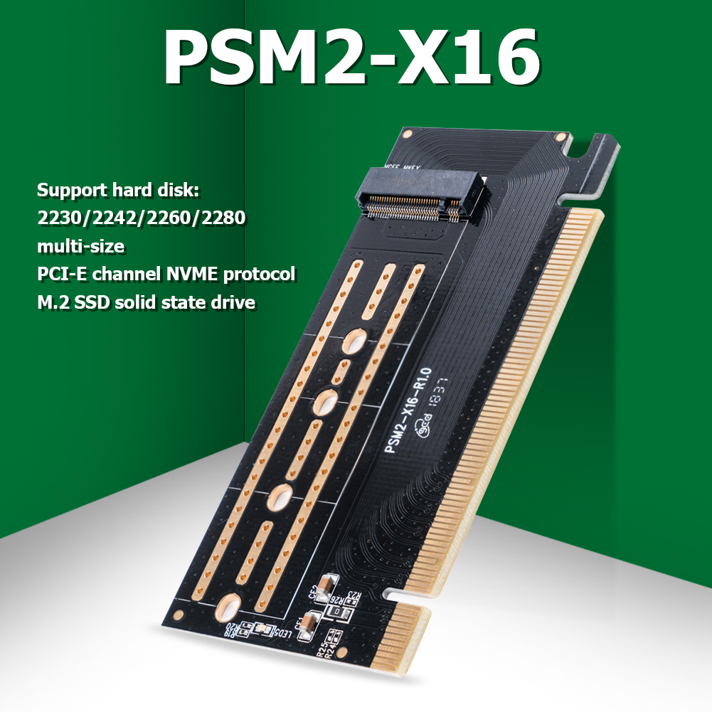 ORICO PCI-E Express M.2 M-key Interface SSD M.2 NVME to PCI-E 3.0 X16 Gen3 Convert Card Support 2230 2242 2260 2280 SSD Adapter 1