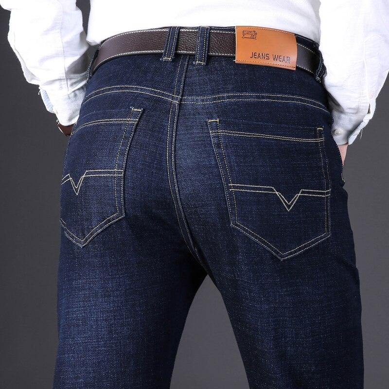 Jeans Men Jean Homme Skinny Denim Spijkerbroeken Heren Biker Stretch Pants Slim Fit Trousers Casual Designer High Quality