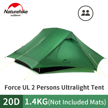 Naturehike Force UL 2 Person Tent Ultralight 20D  5