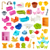 Big Building Blocks Play House Furniture Accessories Indoor Utensil Bed Compatible Large Bricks Assemble Toys Children Kids Gift
