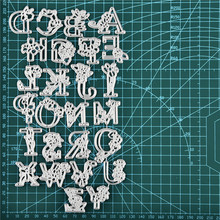 GJCrafts Word Dies Alphabet Metal Cutting for Card Making Scrapbooking Embossing Cuts Stencil Craft New 2019