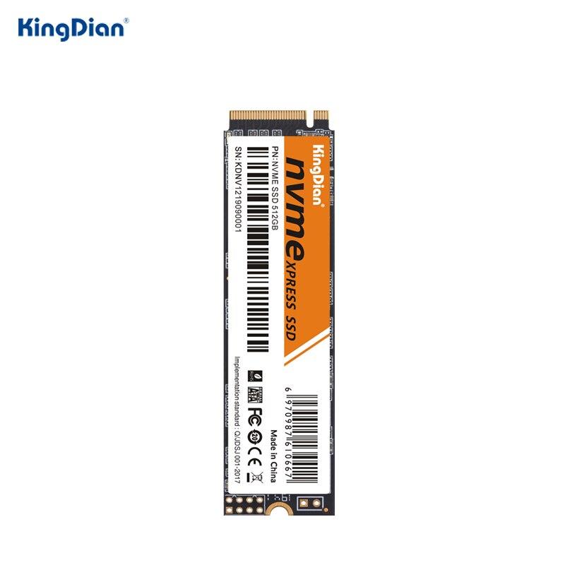KingDian M.2 NVME SSD 128 ГБ 256 512 1 ТБ M.2 2280 PCIe Внутренний твердотельный накопитель диски для ноутбуков