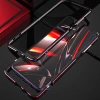 Luxo metal amortecedor caso do telefone para xiaomi 9 t alumínio quadro duro 3d capa protetora para redmi k30 k30 pro k20 caso à prova de choque