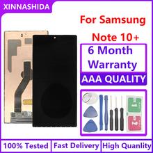 100 oryginalne wyświetlacze LCD do SAMSUNG Galaxy Note 10 + N970F N970 N9700 wyświetlacz LCD ekran dotykowy do Note 10 Plus Note10 N975 N9750 tanie tanio XINNASHIDA NONE CN (pochodzenie) Ekran pojemnościowy 2560x1440 3 AMOLED for SAMSUNG Galaxy Note 10 N970F N970 N9700