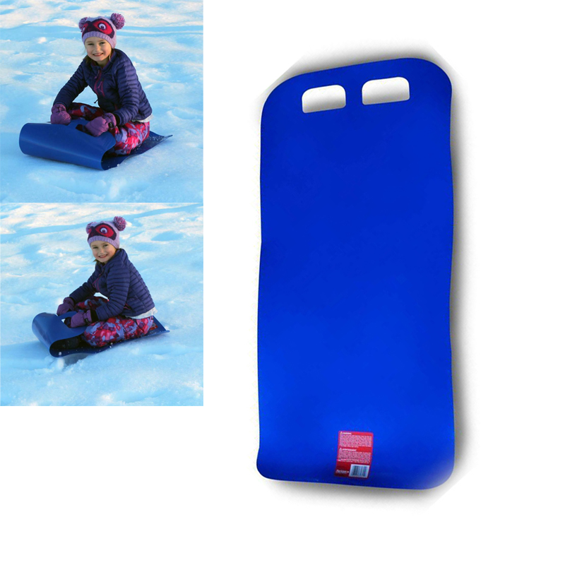 Snow Sled Flying Carpet Grass Skiing Carpet Foldable Snow Tubes Snowboard Toboggan Portable Easy To Carry Perfect For Kids