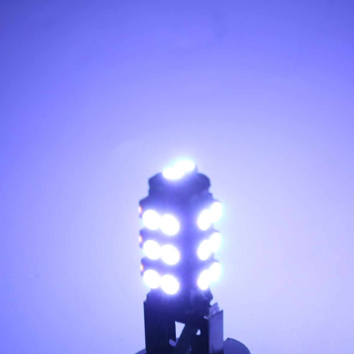 New Arrival 4pcs/set H3 2835 LED Car Fog Driving Light Lamp Bulb 6000K White 12V Car Interior Light Source