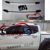 CITYCARAUTO 2012 2017 Decorative Roof Rails fit For Ranger T6 T7 2012 2017 Accessories Silver Roof Rails Rack Carrier Bars