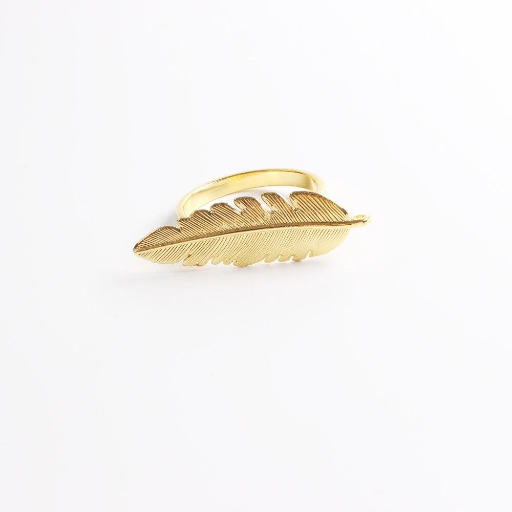 10 pces metal guardanapo anel liga guardanapo folha anel fivela ouro prata
