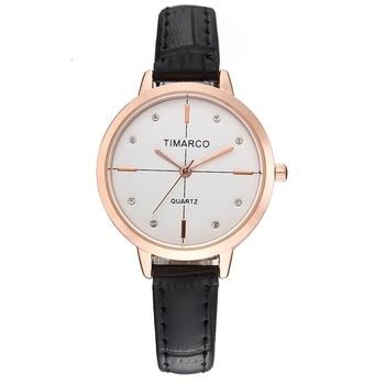 Luxury Brand Simple Fashion Women Watches Diamond Dial Ladies Watch Quartz Wristwatch Leather Strap Clock Relogio Feminino