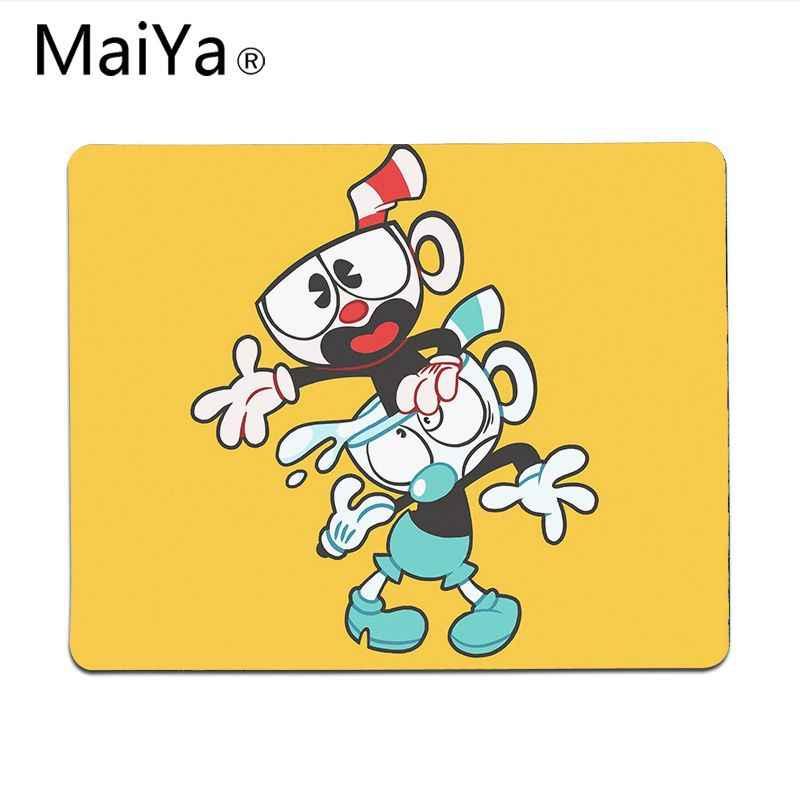 Maiya Top Quality śliczne Cuphead komfort podkładka pod mysz podkładka pod mysz gamingową darmowa wysyłka duża podkładka pod mysz klawiatury Mat
