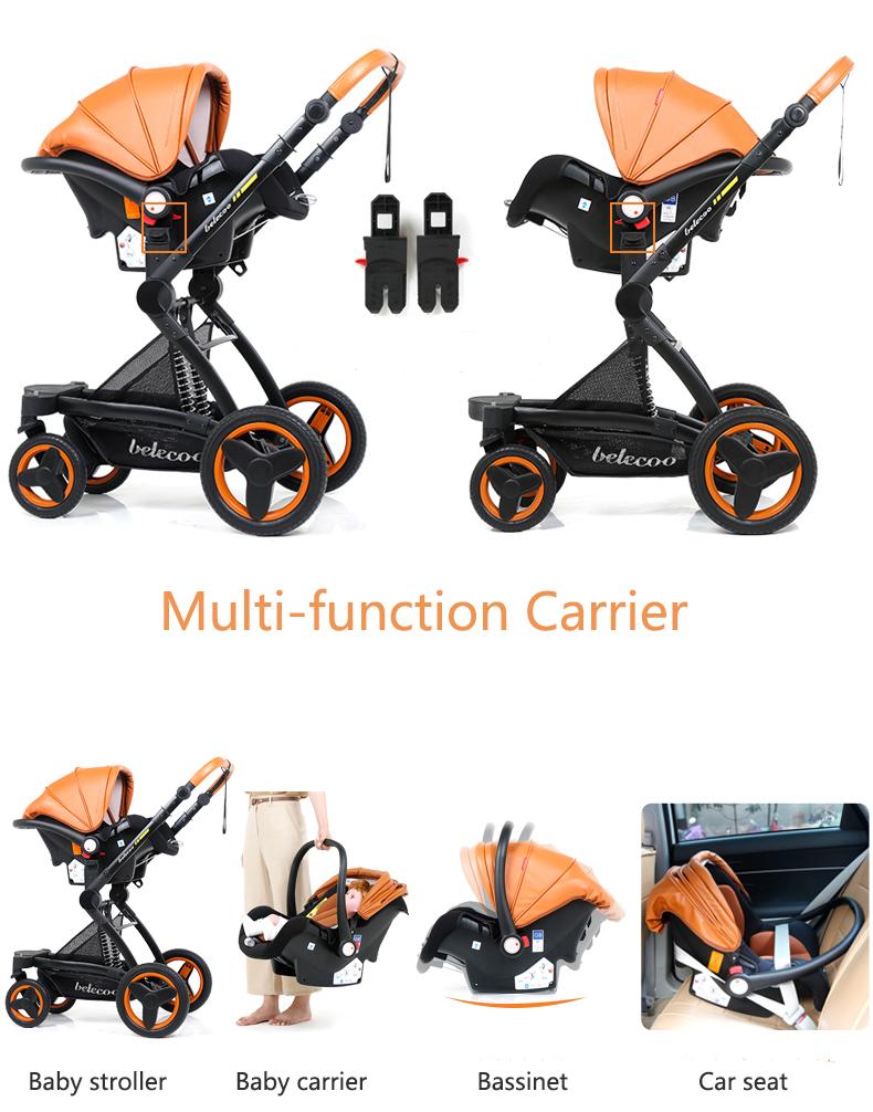 luxury baby stroller 3 in 1 (8)