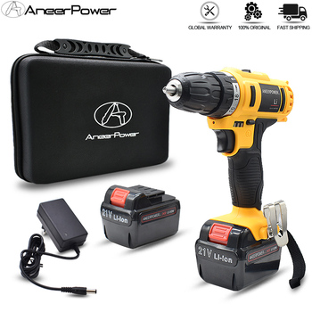 Household Decoration Team 21V Electric Screwdriver Battery Drill Cordless Drill Power Tools Electric Drill Batteries Screwdriver винный шкаф tesler wcv 080