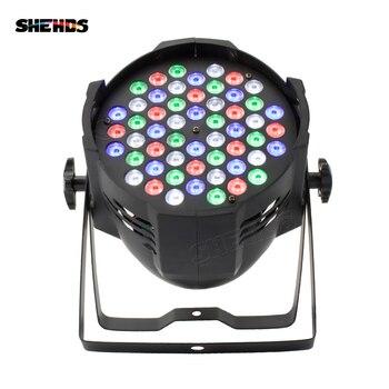 SHEHDS алюминиевый сплав авиационный разъем LED Par 54x9W RGB LED освещение DMX512 прожектор можно мыть DJ сценический свет дизайн