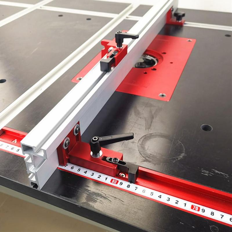Aluminium Alloy T-tracks Slot Miter Track Safety And Reliability Lightweight Miter Bar Slider Table Saw Gauge Rod 400x45x12.8mm