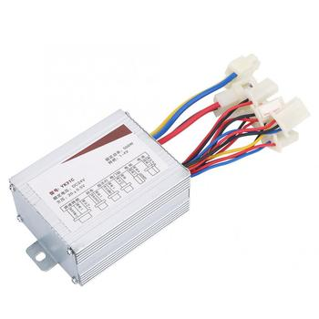 24V/36V/48V 250W/350W/500W DC Electric Bike Motor Brushed Controller Box for Electric Bicycle Scooter E-bike Accessory