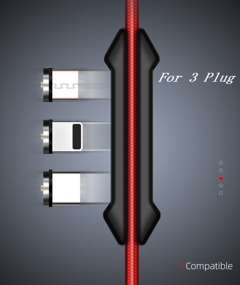 Magnetic Cable Plug Box Type C Micro USB C 8 Pin Fast Charging Adapter Phone Microusb Type-C Magnet Charger Cord Plugs Case