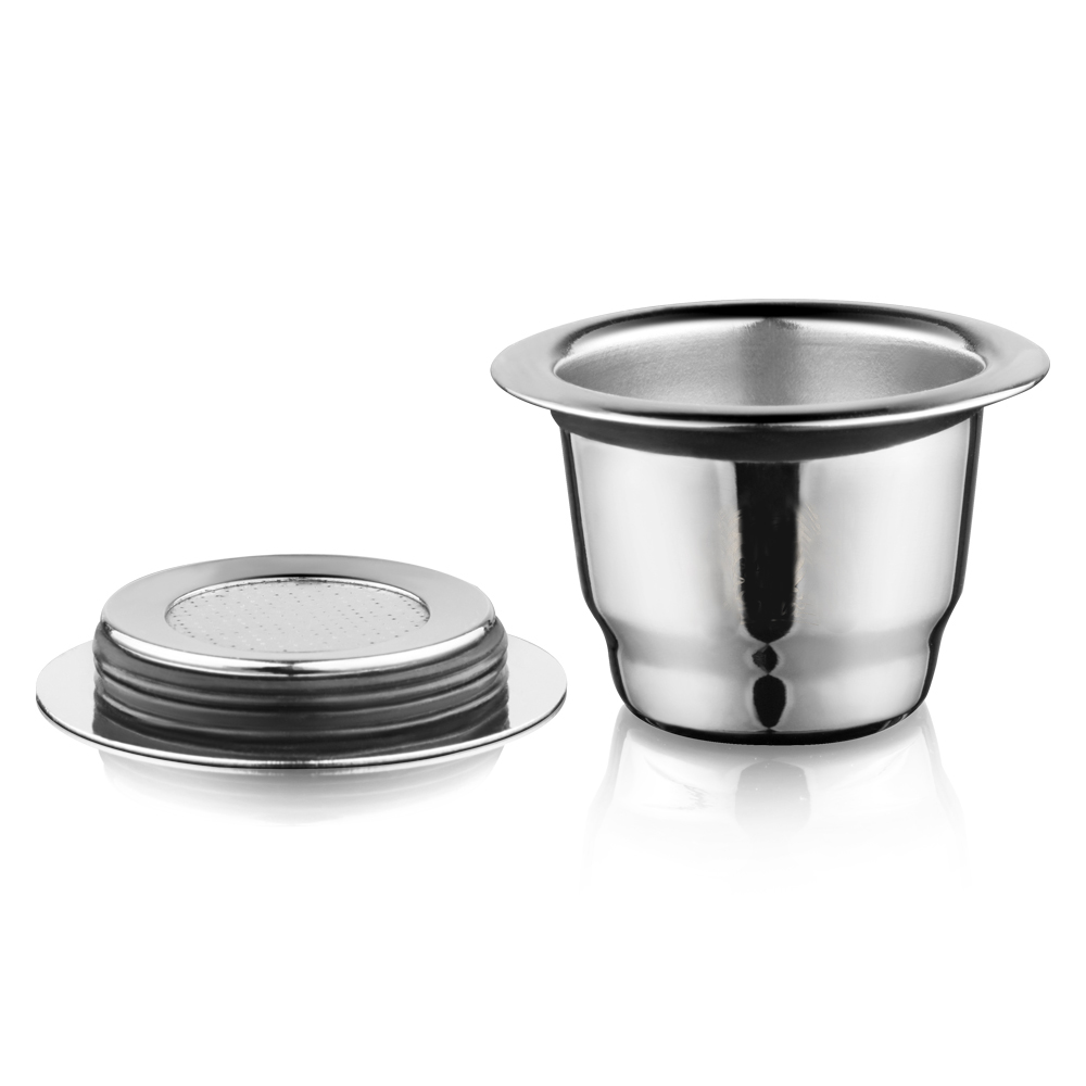 iCafilas Vip Link For Nespresso Reutilisable Refillable Capsule Crema Espresso