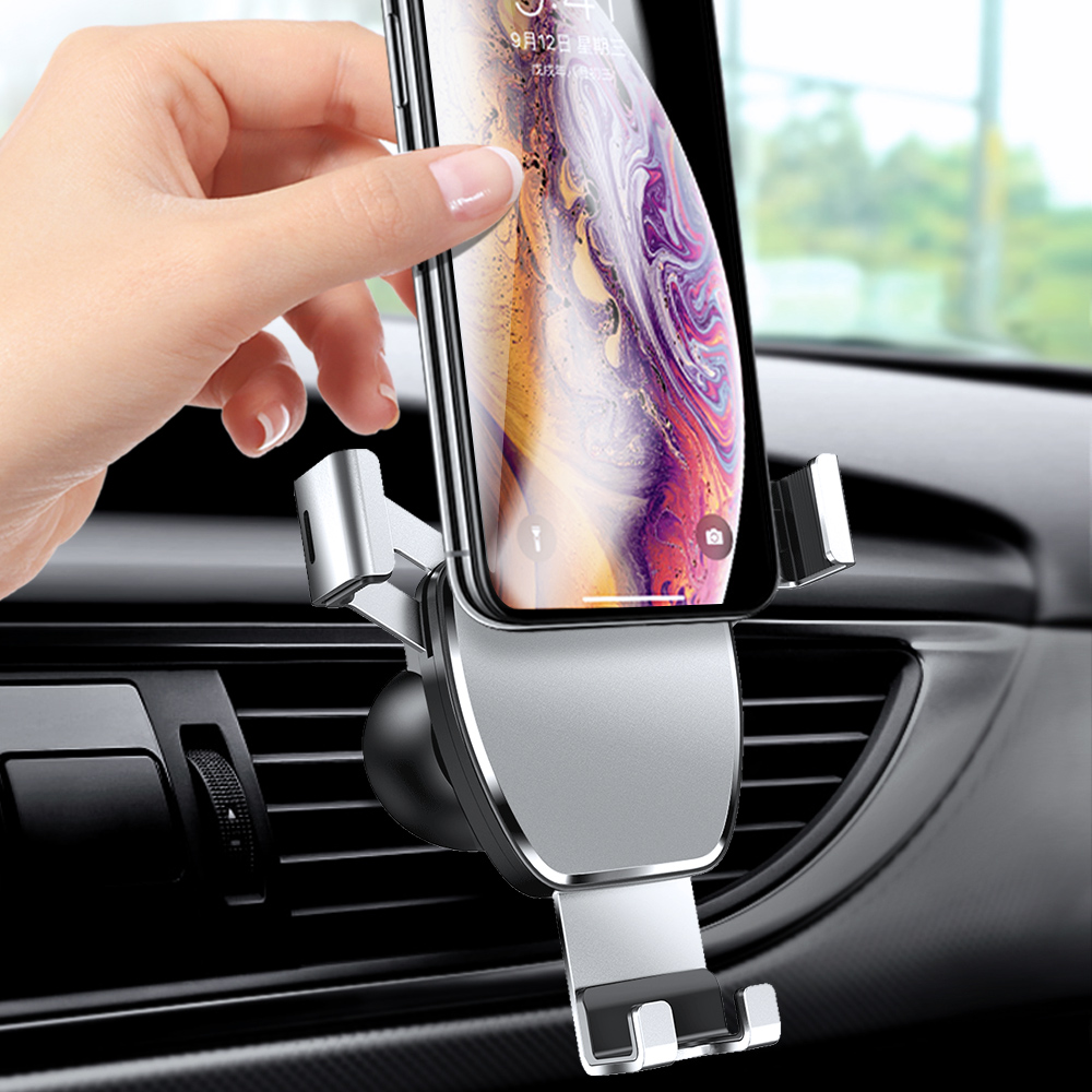 Universal Gravity <font><b>Car</b></font> Bracket <font><b>Car</b></font> Vent <font><b>Mobile</b></font> <font><b>Phone</b></font> Holder <font><b>Car</b></font> Air Vent Mount For Smart <font><b>Phone</b></font> <font><b>Car</b></font> <font><b>Accessories</b></font> image