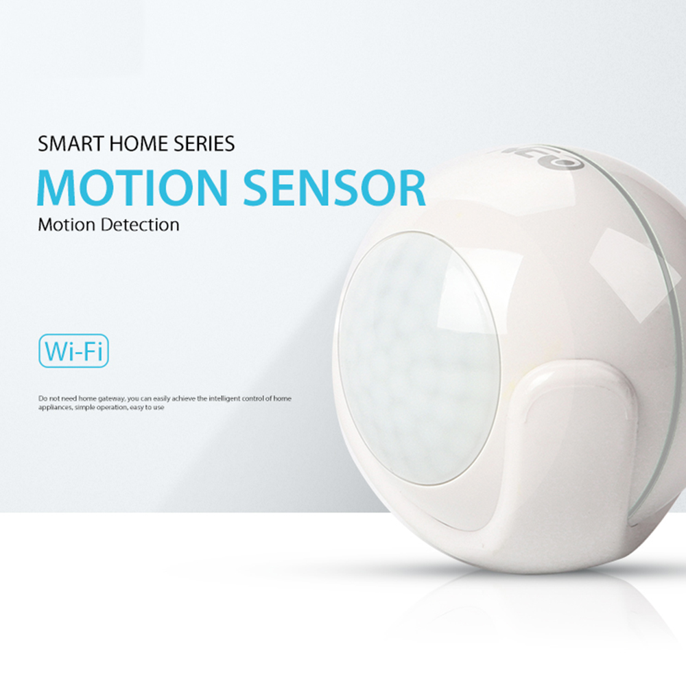 NEO Coolcam Smart Wifi PIR Motion Sensor Detector Built In Battery For Smart Home Automation Work With IFTTT